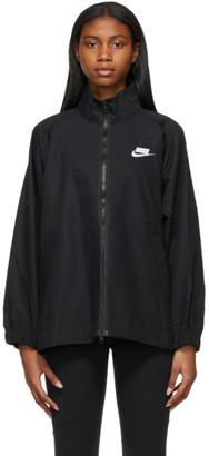 Nike Black Woven Sportswear Jacket