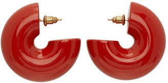 Uncommon Matters Orange Beam Earrings
