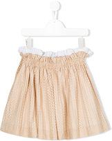 No21 Kids star print full skirt
