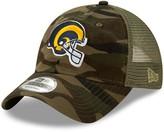New Era Preschool Camo/Olive Los Angeles Rams Tonal Camo Trucker 9TWENTY Snapback Adjustable Hat