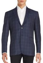 Saint Laurent Check Pattern Sportcoat