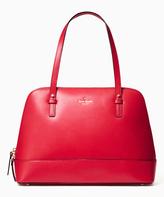 Kate Spade Pillbox Red Grand Street Rachelle Leather Satchel