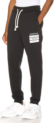 Maison Margiela Stereotype Sweatpants in 900 | FWRD