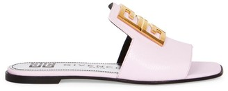 Givenchy 4G Flat Leather Sandals