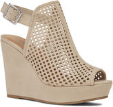 Nine West Chaddie Peep Toe Wedges