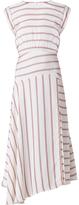 Veronica Beard Jackie Stripe Midi Dress