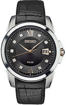 Seiko Le Grand Sport Stainless Steel Solar Strap Watch