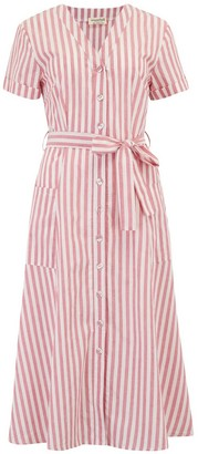 Sugarhill Brighton Evelina Deck Stripe Midi Dress