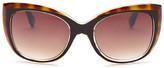 Nanette Lepore Women&s Cat Eye Colorblock Sunglasses