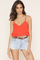 Forever 21 FOREVER 21+ Layer Cropped Cami
