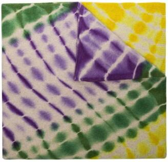 The Elder Statesman Kaleidoscope Cashmere Blanket Scarf