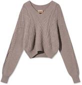 Rue De Tokyo - Kornellia Cable Knit Sweater - xs