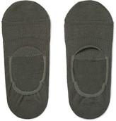 Nonnative Dweller Cotton-blend No-show Socks - Anthracite