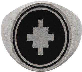 Marcelo Burlon County of Milan Silver Cross Ring