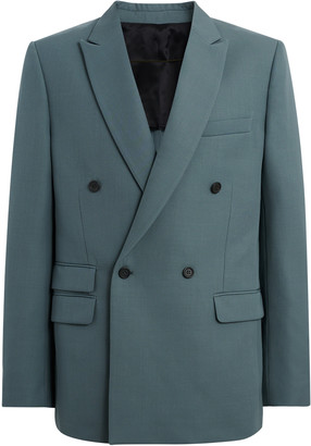 Stella McCartney Holden Cotton Double-Breasted Blazer