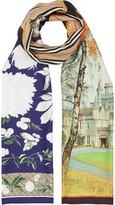 Burberry montage print scarf