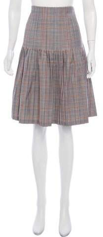 0a0ff8591 Plaid Pleated Skirt - ShopStyle