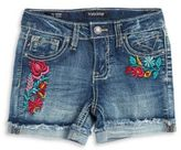 Vigoss Embroidered Denim Shorts