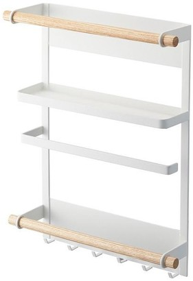 Yamazaki Home Tosca Magnetic Kitchen Organization Rack