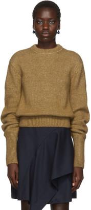 Chloé Beige Alpaca and Silk Sweater