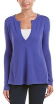 Autumn Cashmere V-neck Cashmere Tunic.