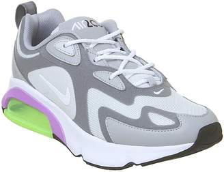 Nike 200 Trainers Pure Platinum White Cool Grey Atomic Purple