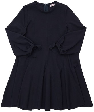 Il Gufo Flared Milano Jersey Dress
