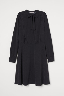 H&M Creped Dress with Ties