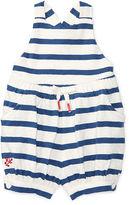 Ralph Lauren Girl Striped Slub Cotton Romper