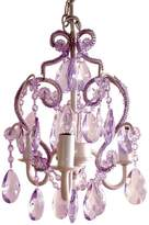 Sleeping Partners 3-Bulb Mini Chandelier - Lavender