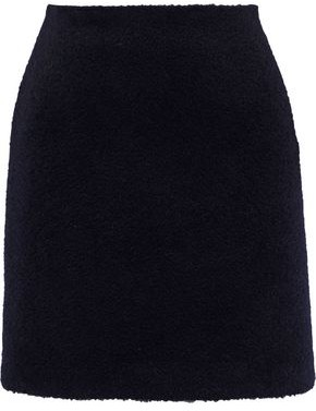 Maje Brushed-felt Mini Skirt