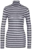 Drykorn SAREE Long sleeved top grey/gold