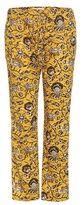 Etoile Isabel Marant Isabel Marant, Étoile Alka Printed Cotton Cropped Trousers