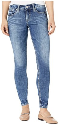 Silver Jeans Co. Suki Mid-Rise Curvy Fit Skinny Jeans L93136SSX209
