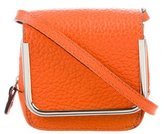 Carven Grained Leather Crossbody Bag