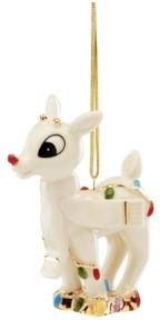 Lenox Rudolph's Christmas Glow Ornament