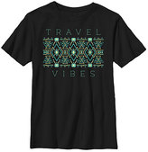 Fifth Sun Black 'Travel Vibes' Crewneck Tee - Boys