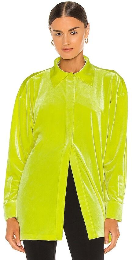 Thumbnail for your product : Norma Kamali Oversized Boyfriend Shirt