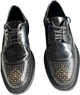 Saint Laurent Black Leather Lace ups