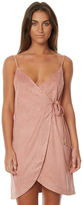Somedays Lovin Dance At Dusk Womens Wrap Dress Pink