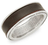 Uno de 50 Rodeado Hammered Metal Ring
