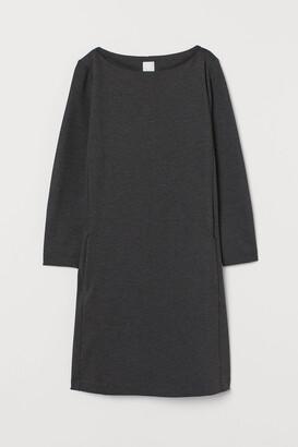 H&M Boat-neck Jersey Dress