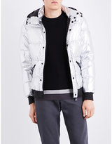 Armani Jeans Metallic Shell-down Jacket