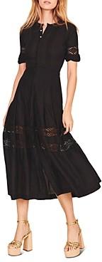 LoveShackFancy Edie Shirt Dress