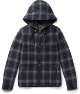 Lanvin - Checked Wool Hooded Jacket