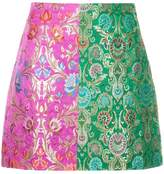 Romance Was Born Harlequin Brocade skirt