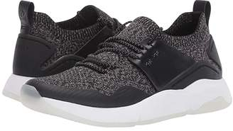 Cole Haan ZEROGRAND All-Day Trainer (Black Knit/Leather/Optic White) Women's Shoes