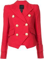 Smythe Cadet jacket - women - Cotton/Linen/Flax/Acetate/Cupro - 4