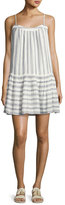 Soft Joie Ante Sleeveless Striped Mini Dress, White