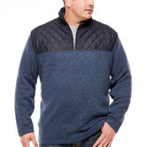 THE FOUNDRY SUPPLY CO. The Foundry Big & Tall Supply Co. Quarter-Zip Pullover Big and Tall